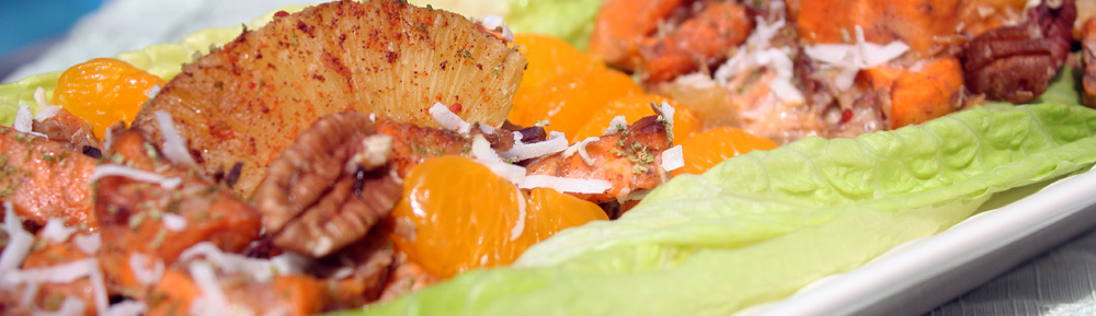 Roasted Sweet Potato Salad (from someone who doesn't like salads) – Daring Cooks (very challenging) Challenge