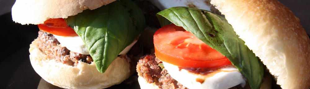 Italian Caprese Sliders – Top 5 in LA Times Battle of the Burgers