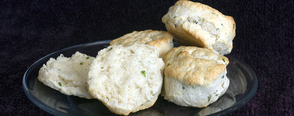 The Daring Bakers' Challenge:  Australian Scones (aka baking powder biscuits)