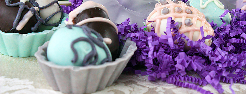 Easter Egg Cake Balls
