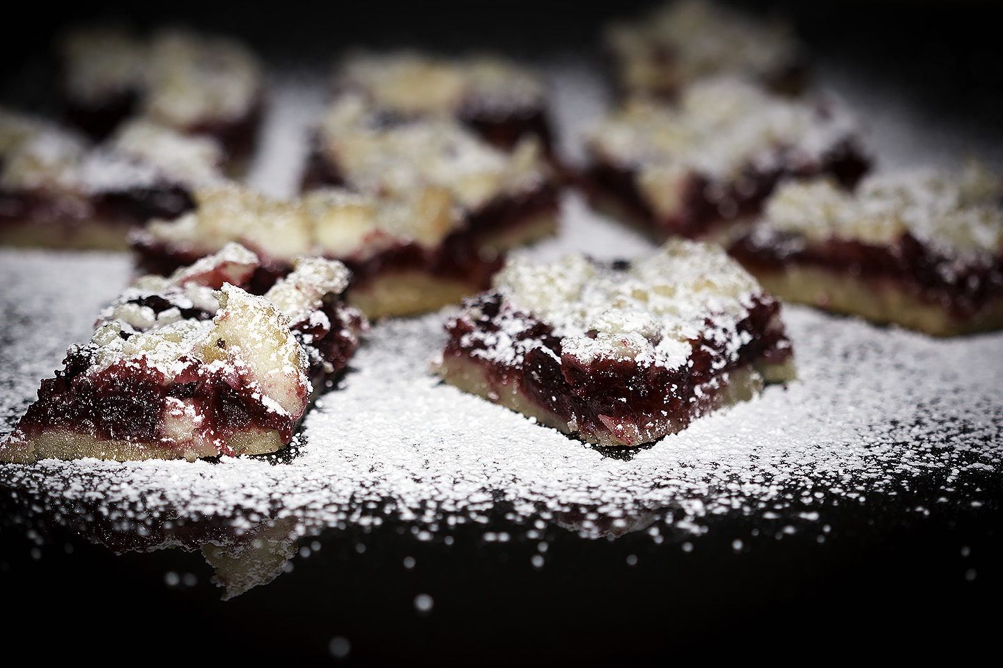 Cranberry Cookie Bars:  what to do with that leftover cranberry sauce