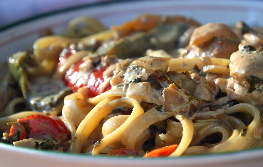 Tequila Lime Chicken Fettuccini – just like California Pizza Kitchen