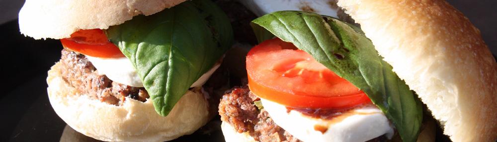 Italian Caprese Sliders – Top 5 in LA Times Battle of the Burgers