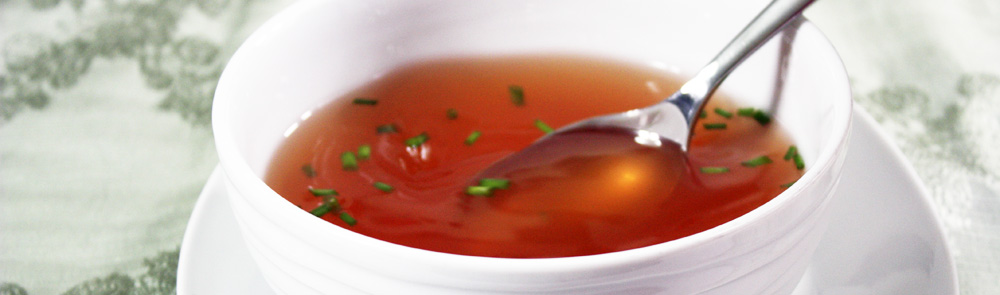 The Daring Cook's Challenge: Tomato Consomme