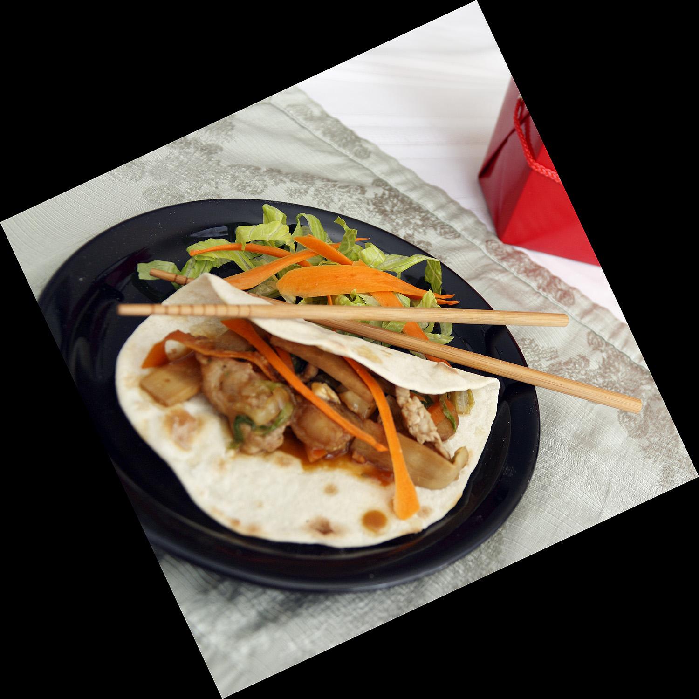The Daring Cook Challenge:  Moo Shu Pork
