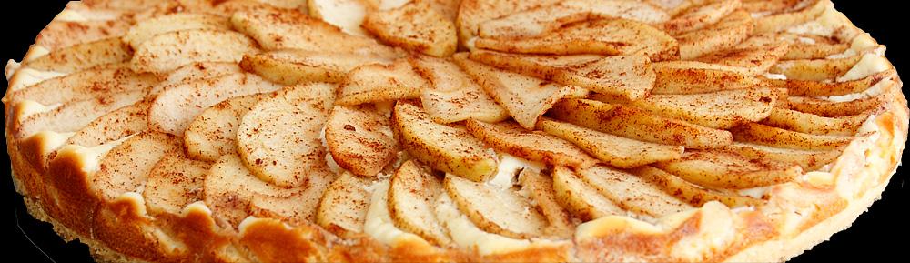 Bavarian Apple Cheese Cake Tart